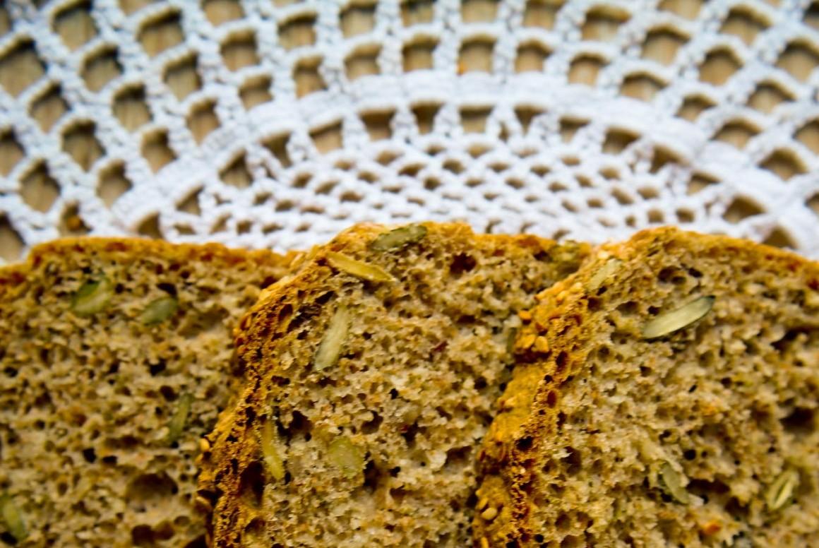 Chleb Z Ostropestem